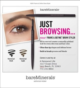 bareminerals frame define brow styler